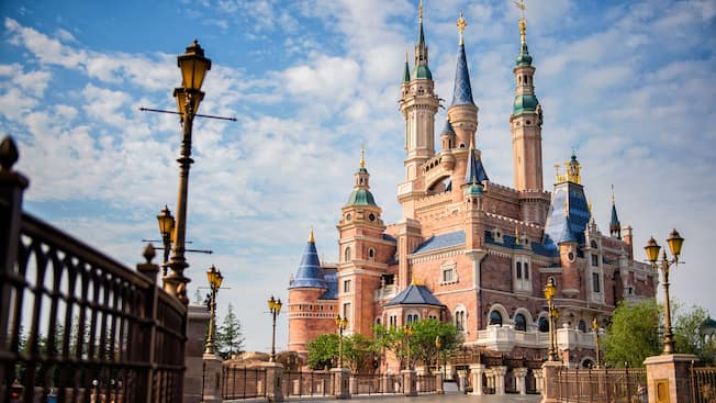 enchanted storybook castle attractions shanghai disney resort