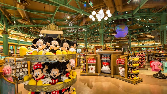 World Of Disney Store Shops Shanghai Disney Resort